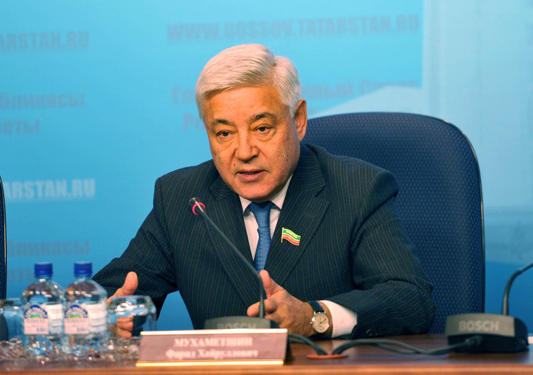 Мухаметшин призвал депутатов и бизнесменов «скинуться» на строительство Булгарской академии